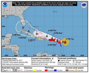 Turks and Caicos Tourism urges visitors to leave ahead of Hurricane Irma