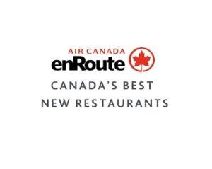 Air Canada announces Canada's Best New Restaurants 2017