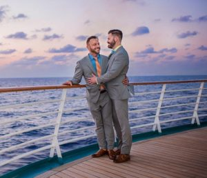 Celebrity Cruises offers legal same-sex marriages onboard
