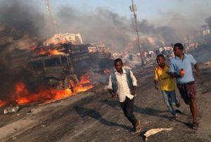 Dozens killed, scores wounded in Mogadishu hotel bombing