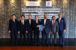 Joint-venture Nakheel Chairman  and Centara Chairman