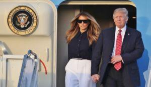 Tourist Donald Trump in search of Aloha in Waikiki