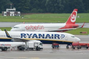 Air Berlin welcomes Lufthansa monopoly, Ryanair is going to court