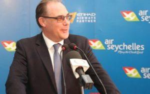 Air Seychelles' Chief Executive Roy Kinnear steps down