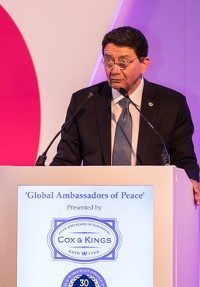 Tourism industry leaders honored as IIPT Ambassadors of Peace