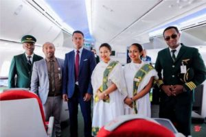 Ethiopian Boeing 787-9 receives a rapturous welcome in Madagascar