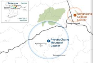 PyeongChang Mountain Cluster