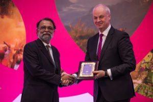 David Scowsill Ambassador of Peace with Ajay Prakash