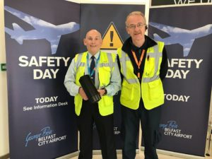 Belfast City Airport safety initiative wins national award
