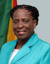 Grenada Minister Clarice Modeste Curwen in Observance of Tourism Awareness Month