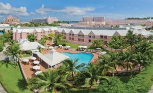 Choice Hotel Comfort Suites Paradise Island not seriously impacted by recent storms