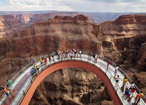 Grand Canyon Skywalk, Grand Canyon West top 1 million visitors