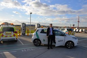 Heathrow welcomes 50th electric vehicle as part of pledge to 'Go Electric'