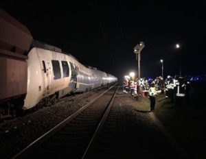 Two-train collision near Dusseldorf leaves up to 50 passengers injured, trapped