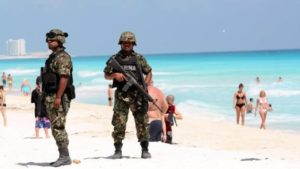 Tourism Cancun:  Gang violence, murder, car jacking, poisoned food, sexual assault and armed police