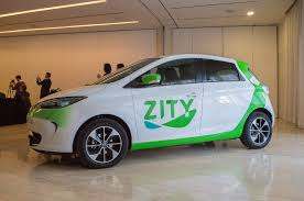 Car sharing in Madrid is called ZITY