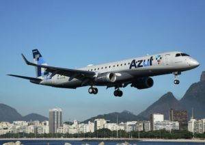 Azul is the most on-time airline in Brazil