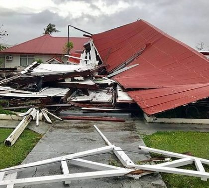 'Worst storm in over 60 years' destroys Tonga's century-old parliament building