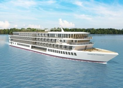 American Cruise Lines names 2nd new riverboat American Harmony