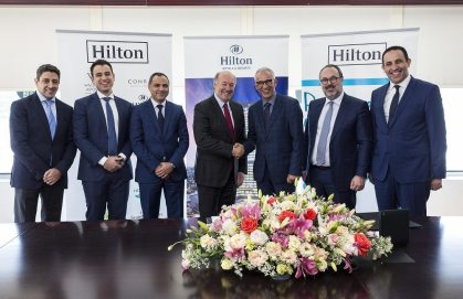 Hilton returns to Moroccan capital