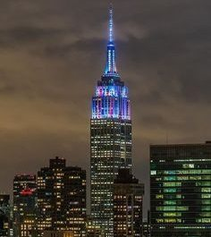 Empire State Building unveils new lighting tradition on Daylight Savings