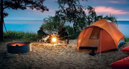 Six tips for camping when you don't like camping