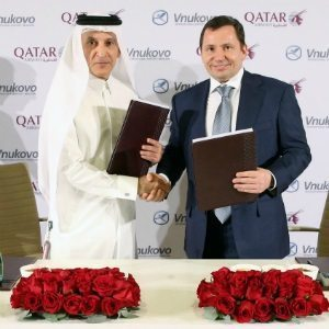 Qatar Airways to acquire up to 25% of Russia's Vnukovo International Airport