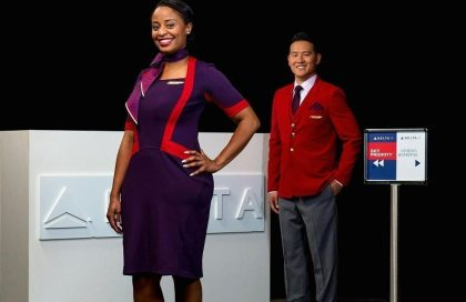 Delta Air Lines reveals new uniforms for its 60,000 uniformed employees
