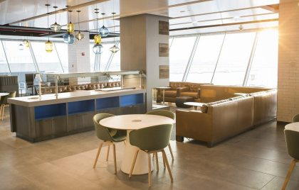 Alaska Airlines opens new airport lounge at New York's JFK