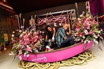 Moxy Amsterdam Houthavens sails onto the scene with Land & Sea-inspired Coming Out party