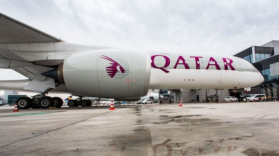 Qatar airways brings airbus a to cardiff to inauguration