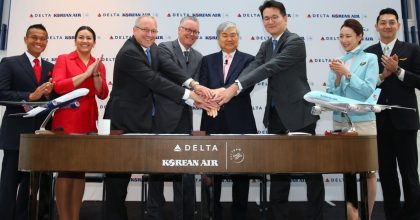 Delta Air Lines and Korean Air to launch world-class joint venture partnership