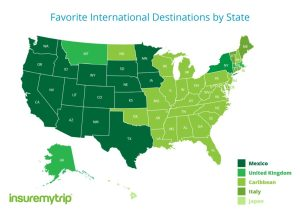 Hawaii is only US state to pick Japan as favorite international destination