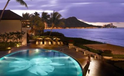 How does Hawaii hotel performance compare to other destinations?