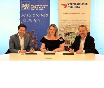 CSAT and MIAS of the Prague Czech Technical University sign Memorandum of Co-operation