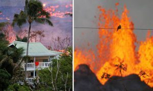 Breaking News from Hawaii Island: Lava crossed highway, entered Ocean forming toxic fumes
