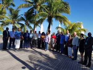 Replanting corals : Mauritius Tourism Minister Anil Gayan leads