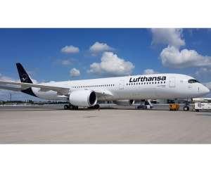 Lufthansa receives 10th Airbus A350-900 jet