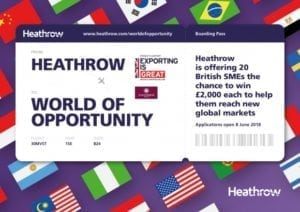 Heathrow Airport launches 'World of Opportunity' grant