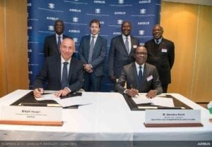 Airbus partners with government of Côte d'Ivoire