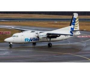 VLM Airlines arrives at Cologne Bonn Airport