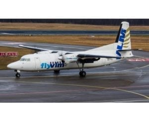 VLM Airlines arrives at Cologne Bonn Airport