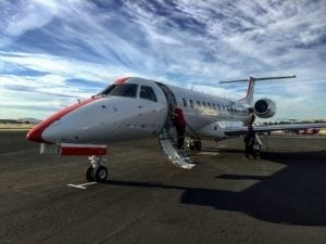 JetSuiteX launches semi-private flights between Orange County and Las Vegas