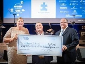 Travel industry conference raises over $75,000 for Autism Speaks