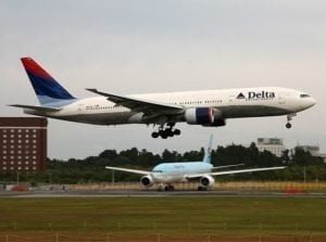 Delta Air Lines connects Minneapolis/St. Paul and Seoul-Incheon, Korea