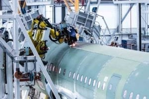 A fourth A320 Family production line started at Airbus in Hamburg