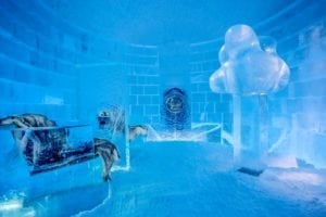 Icehotel in Sweden: You got to see the two new art suites!