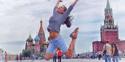 Russians are the world's happiest tourists