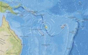 Strong 6.1 earthquake strikes Vanuatu islands