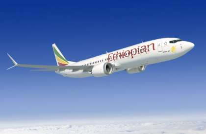 Ethiopian Airlines receives Africa's largest 737 MAX